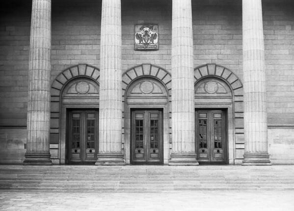 Caird Hall Doors