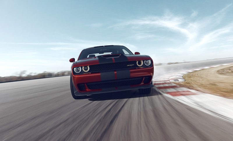 Dodge Hellcat 100% CGI<br /> Photographed Backplate