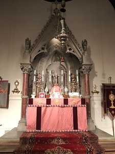 High Altar, Gaudete Sunday