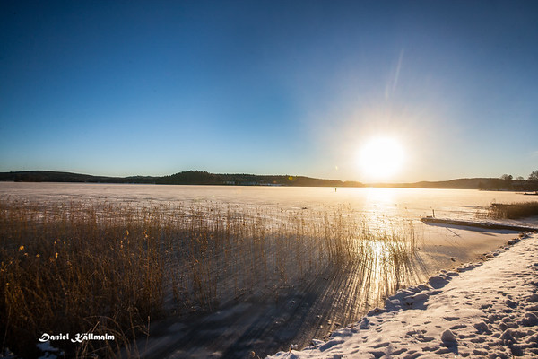 The sun over Norasjön