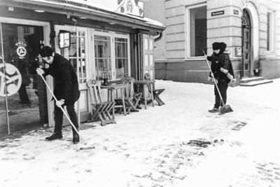 Snow Sweeping