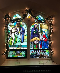 Windows of Christmas & Candlemas