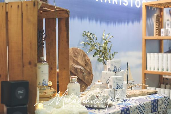 Messuja edeltänyt viikko ahdistuksineen ja ongelmineen. Saaren Taika osastolla 7H138 ja pari arvontaa!
