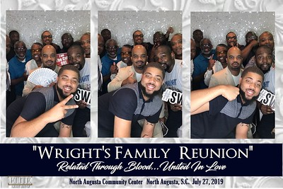 """2019.07.27 """"Wright's Family Reunion, Related Through Blood...United In Love"""