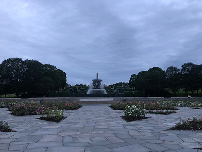 Visiting Vigeland Park at 10PM!