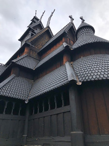 Stave Church - dating back to the 12th Century