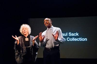 2019.09.27_PhotoiAlliance Talk at San Francisco Art Institute: Corey Keller of SFMOMA with photo collector Paul Sack