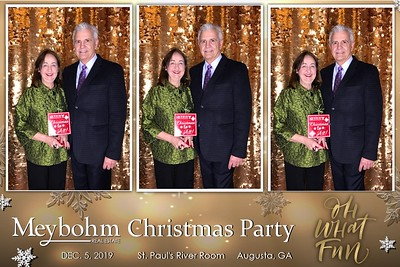 2019.12.05 Meybohm Christmas Party@ Saint Paul's River Room   Augusta, GA