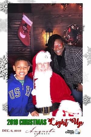 "2019.12.06  2019 ""Christmas Light Up"" Christmas Tree Lighting@ Augusta Commons   Augusta, GA"