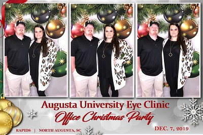 2019.12.07 Augusta University Eye Clinic Office Christmas Party