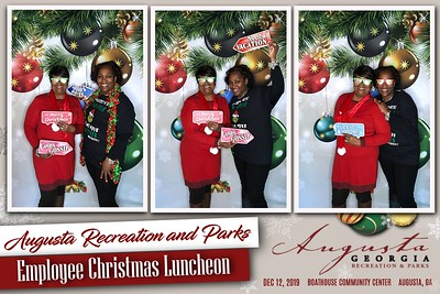 2019.12.12 Augusta Recreation and Parks Employee Christmas Luncheon