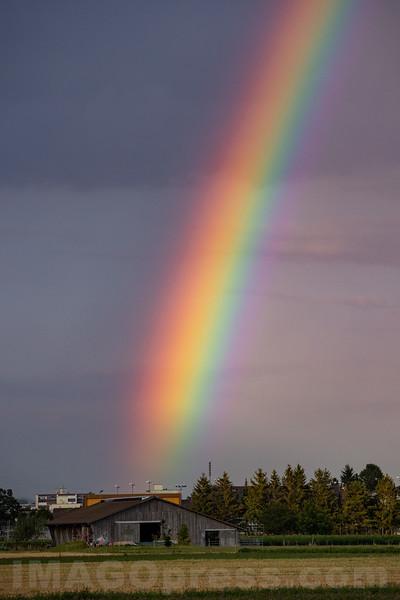 Regenbogen bei Egerkingen SO © Patrick Lüthy/IMAGOpress