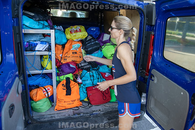 Belchenlauf 2019 - Aufgabe des Gepäcks.