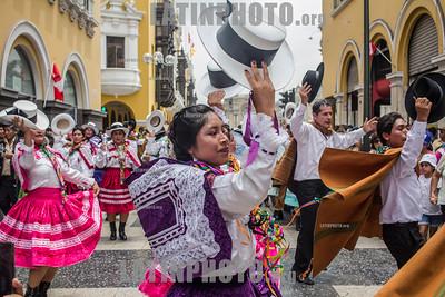 Comparsas participaron en lanzamiento del Carnaval Abanquino 2019