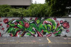Legales Graffiti-Sprayen auf dem Areal der Liegenschaft Rötzmattweg 10 in 4600 Olten © Patrick Lüthy/IMAGOpress
