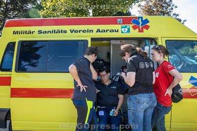 Belchenlauf 2019 - Sanitätswagen.
