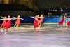 Eisgala 2019 elco Eislaufclub Olten - Die Jubilarin Katharina Brunner läuft zusammen mit den SEV zu Bolero von Ravel.