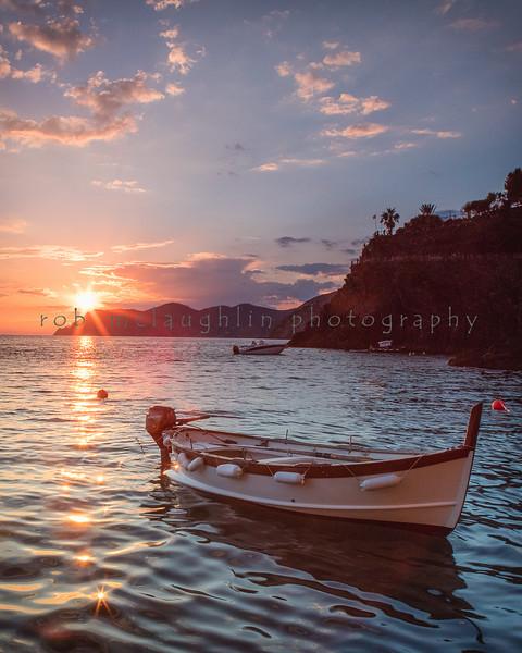 Manarola Sunset , Cinque Terre , Liguria