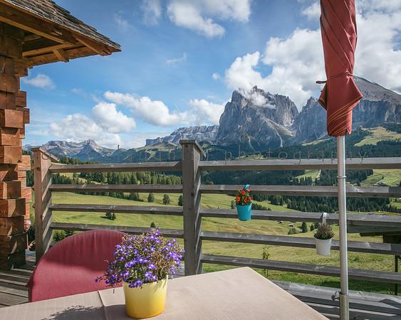 Lunch With A View , Rauchhuette Restaurant , Saltria , Bolzano