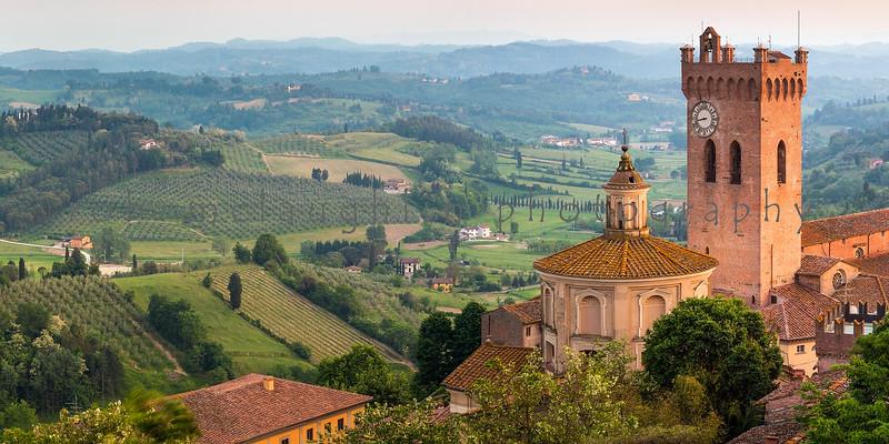Valley View , San Miniato , Tuscany