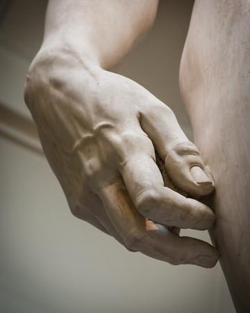 Dextra David , Galleria dell'Accademia , Florence