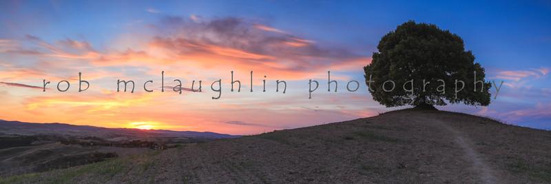 "Tuscan Sunset , ""off the beaten path"" , Tuscany"
