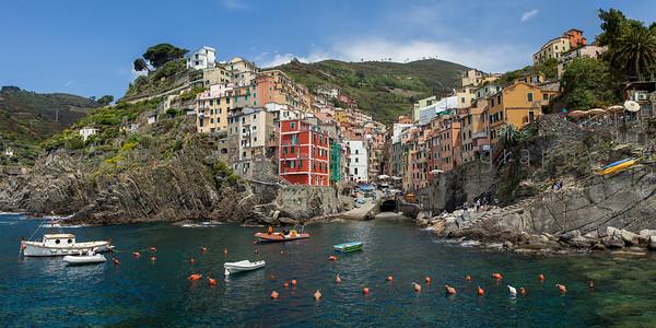 From The Rocks , Riomaggiore , Cinque Terre