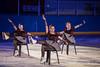 Eisgala Olten 2018 : Zu Cher's Burlesque laufen Lisa Merz, Jasmina Schär, Zora Ponzio und Anna Baumann ( SEV Bronze )