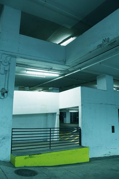 Flourescent Garage