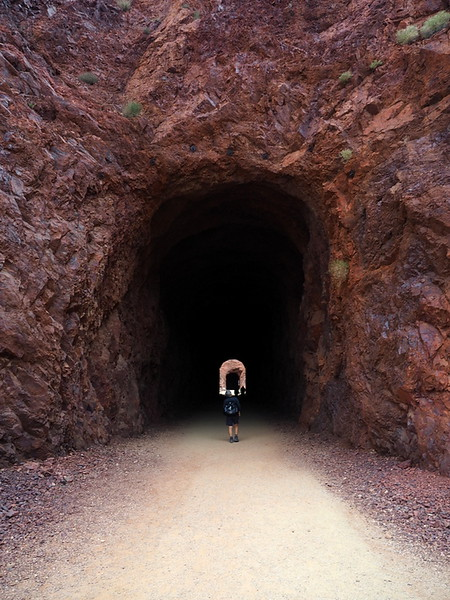 Tunnel 1 - Historic Railroad Trail, Lake Mead National Recreation Area, Nevada
