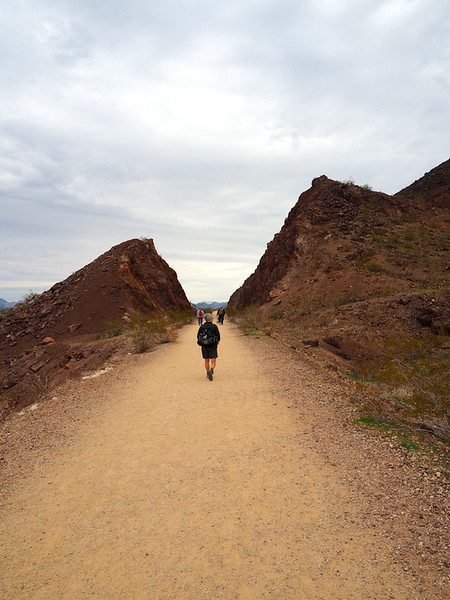 Historic Railroad Trail, Lake Mead National Recreation Area, Nevada