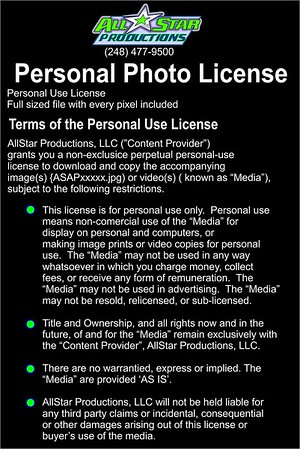 Personal Photo License