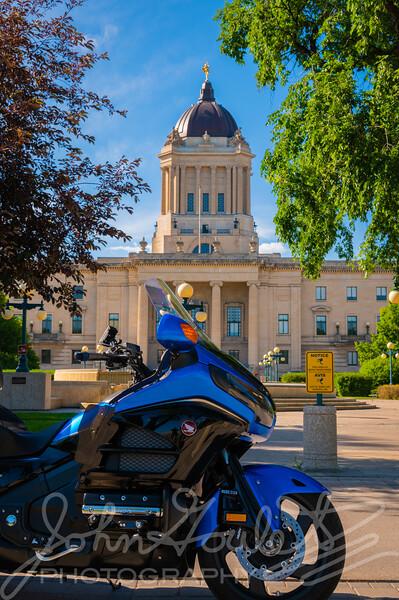 Honda GL1800 GoldWing in Manitoba
