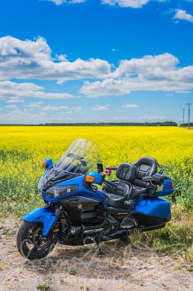 Manitoba by Motorcyle Staycation 2020