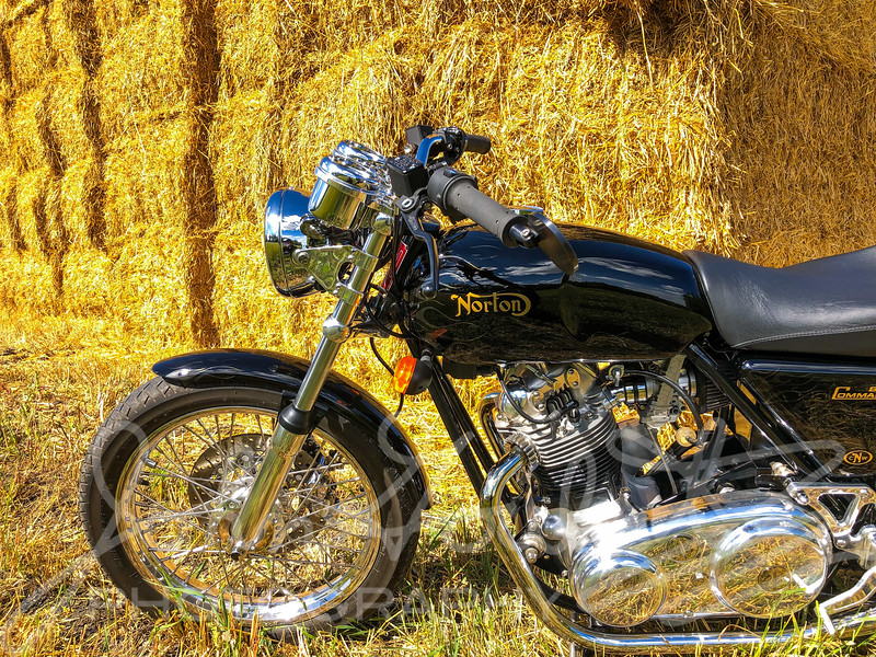 Manitoba by Motorcycle Staycation on a Norton 850 Commando