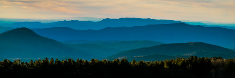 The Blue Ridge at Max Patch