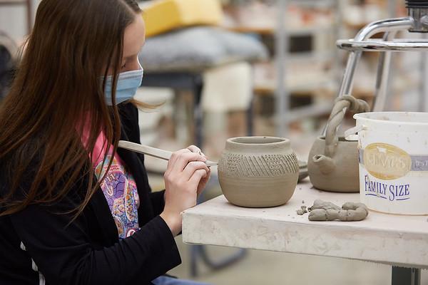 2020 UWL Art Ceramics Woodfired Kiln 0055