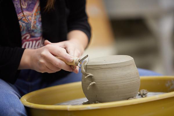2020 UWL Art Ceramics Woodfired Kiln 0028
