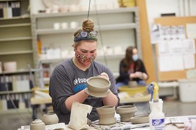 2020 UWL Art Ceramics Woodfired Kiln 0014