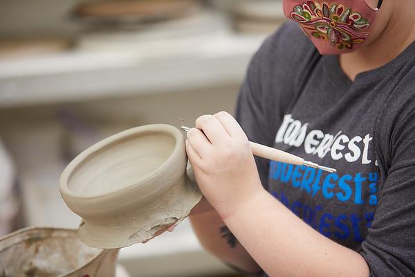 2020 UWL Art Ceramics Woodfired Kiln 0019