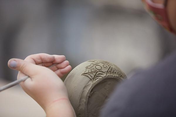 2020 UWL Art Ceramics Woodfired Kiln 0058