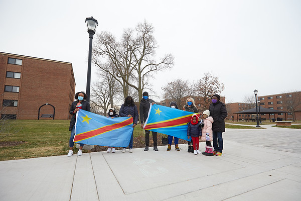 2020 UWL Vanessa Mbuyi Democratic Republic of Congo Flag Raising  0022