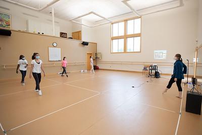 Dance II virtual guest in class
