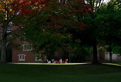 Students enjoy recreational time