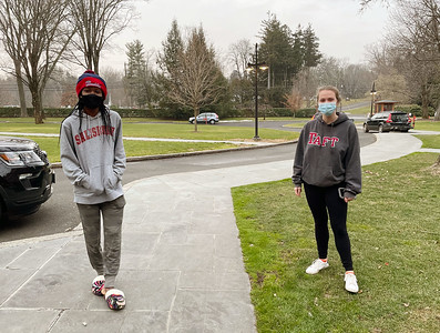 Day students return to campus