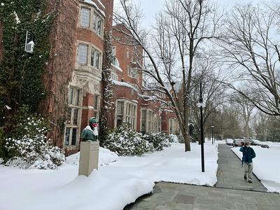 Snowy Morning at Taft