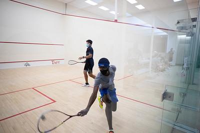 Boys' Varsity Squash scrimmage