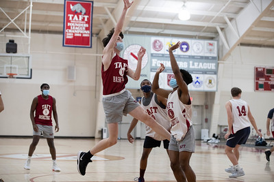 Boys' JV Basketball scrimmage