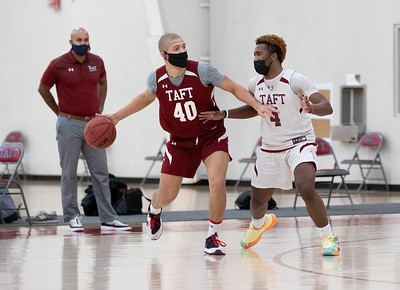 Boys' Varsity Basketball scrimmage