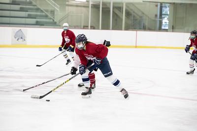 Girls' Varsity & JV Hockey Intersquad scrimmage